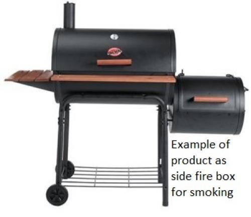 Table Top Grill & Side Fire Box