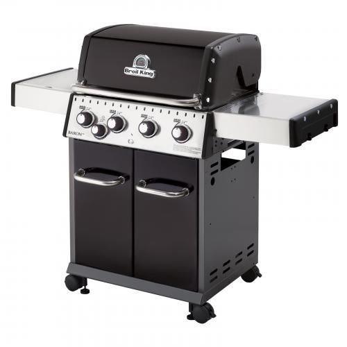 Broil King Baron 440 Black Gas Barbecue