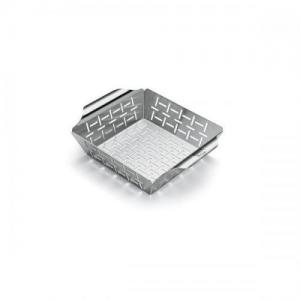 Weber Deluxe Grilling Basket, Small Stainless Steel