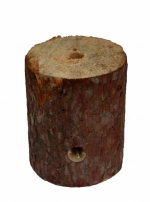 Woodson Real Log Candle Swedish Torch