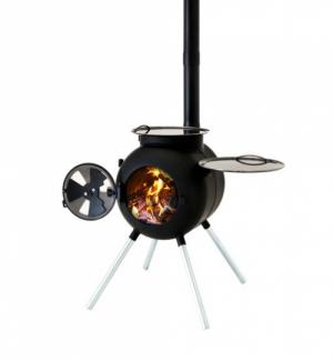 Ozpig Outdoor Heater and BBQ Stove