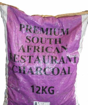 South African Wattle Restaurant Grade Lumpwood Charcoal 12kg