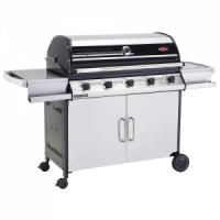 1000s 5 Burner Cabinet Trolley & Side Burner - 10% OFF FREE COVER