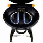 Beefeater Universal Gas Grill (BUGG) Graphite Black BBQ with Trolley