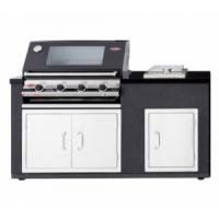 Beefeater Complete Outdoor Kitchen with S3000e 4 Burner BBQ, Doors & Side Burner - 10% OFF
