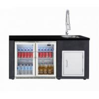 Beefeater Complete Outdoor Kitchen with Fridge, Door, Sink and Tap - 10% OFF