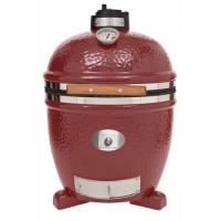 Monolith Classic Kamado Grill in Red