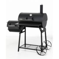 Tepro Biloxi Charcoal BBQ and Chamber Smoker Grill