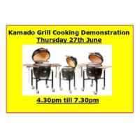 27th June Kamado Grill BBQ Demonstration